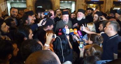 Духовенство Грузии протестует против закона о конопле