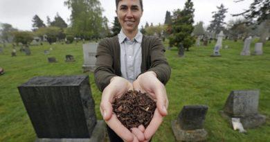Экология: строится первый завод по переработке покойников в компост